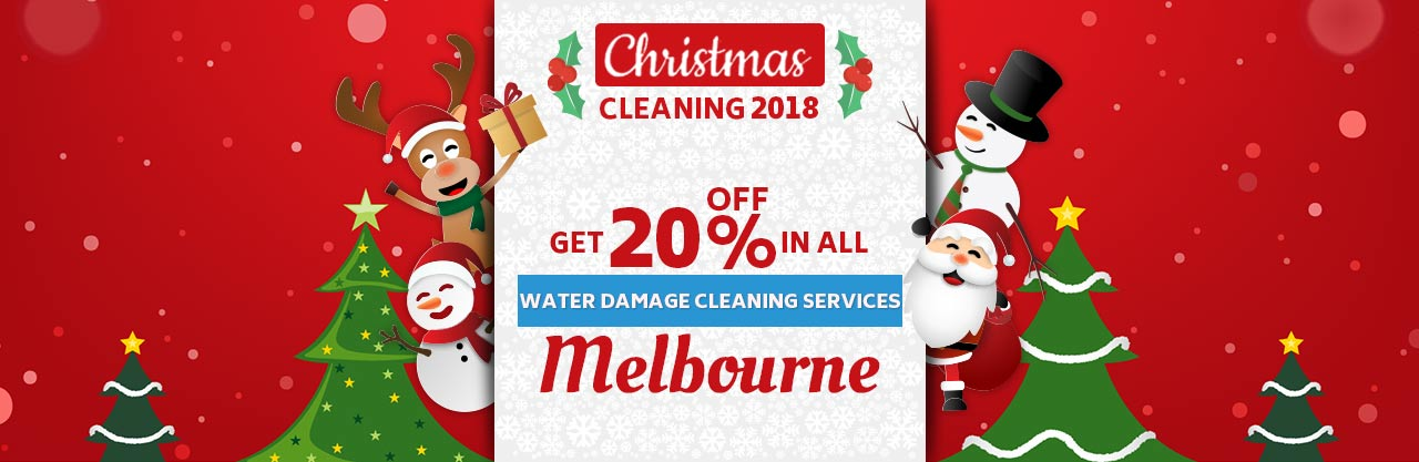 Christmas Water Damage Cleaning Melbourne