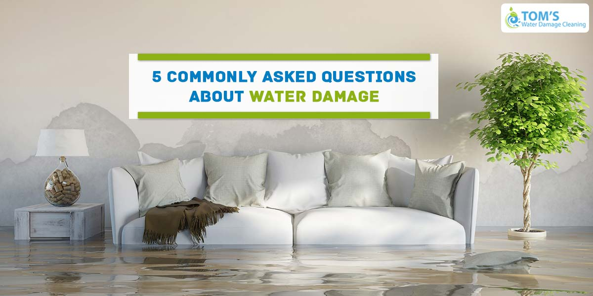 5 Commonly Asked Questions About Water Damage