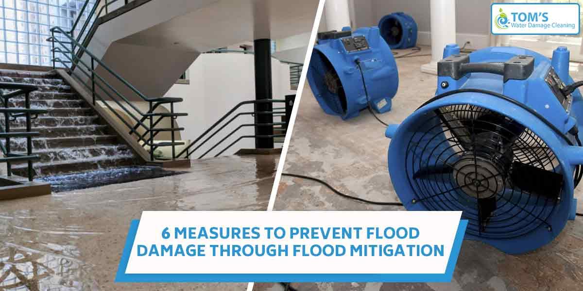 6 Measures to Prevent Flood Damage Through Flood Mitigation